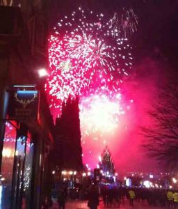 new years eve edinburgh