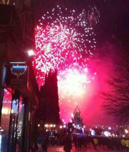 new years eve edinburgh